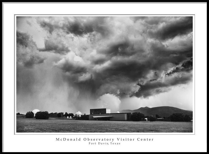 The Frank N. Bash Visitors Center at McDonald Observatory