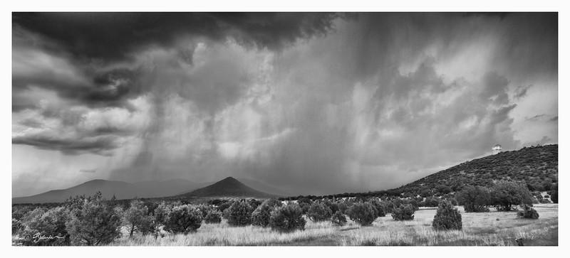Summer Storm with HET Telescope
