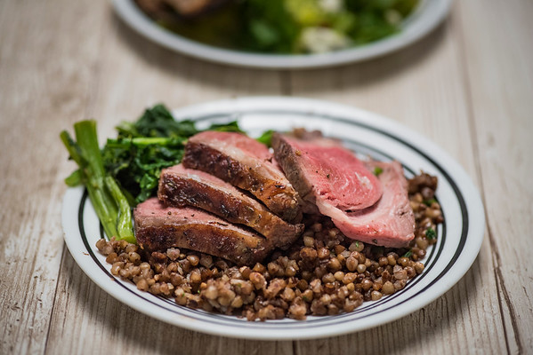 August 28 | Lamb and Salad