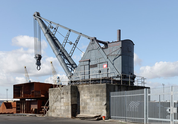 100 Ton Steam Crane, Alexandra Dock, Hull.