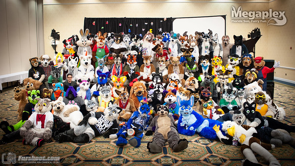 Group photo from MegaPlex 2011