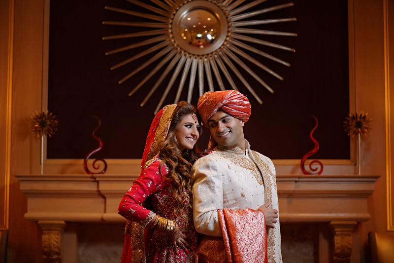 Mehvesh and Mo Wedding