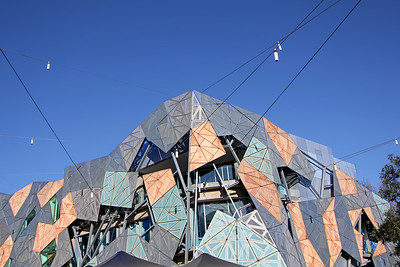 Fractal Facade of Federation Square, Melbourne (1)