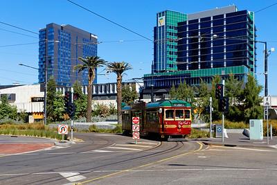 City Circle Tourist Tram, Collins Street, Melbourne, Victoria, Australia (1)