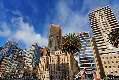 Spring & Collins Streets Skyline  Melbourne (1)