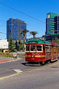 City Circle Tourist Tram, Collins Street, Melbourne, Victoria, Australia (2)