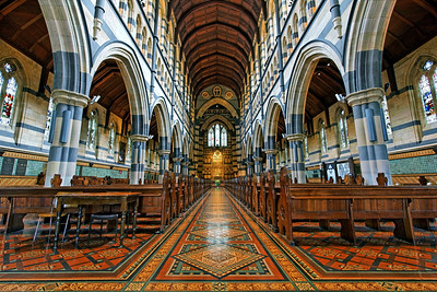 Interior of St Paul's Anglican Cathedral  Melbourne (2)