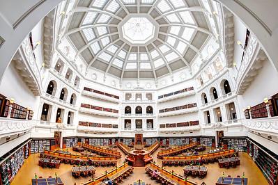 The La Trobe Reading Room  State Library of Victoria,  Melbourne
