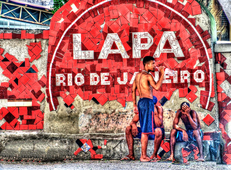 Selaron Steps, Rio de Janeirio, Brazil