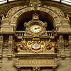 Antwerp  Train  Station Clock