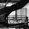 Spiral Staircase with Bike