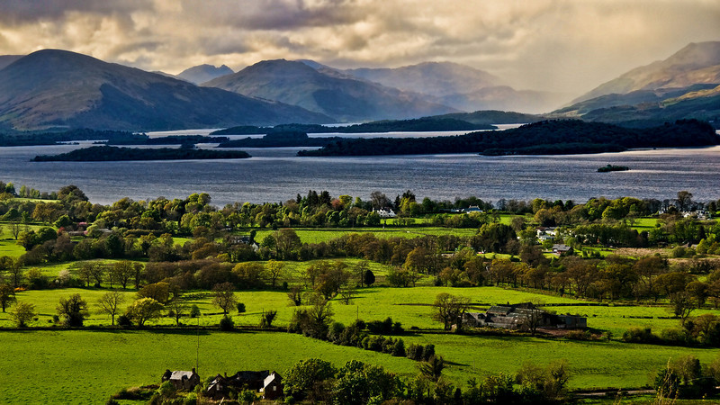 Loch Lomond - Early evening, just before the rain.