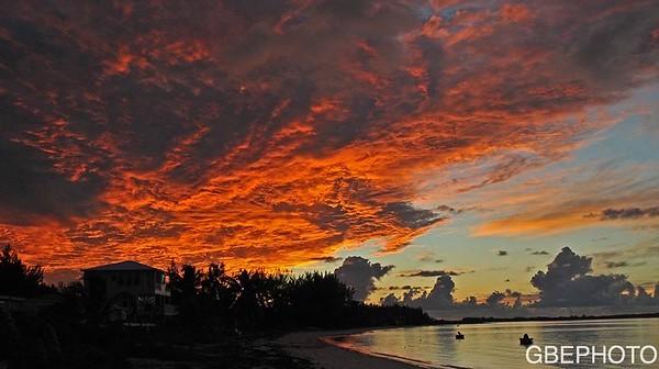 SUNRISE OVER CAUSARINA BAY