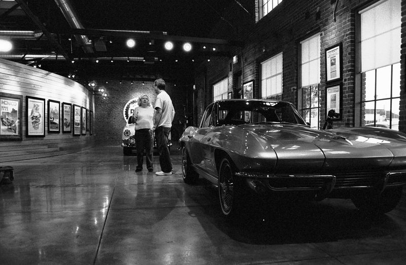 Ted's Garage Lobby, July 2005
