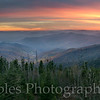 Clingman's Dome Sunset, Great Smoky Mountain National Park