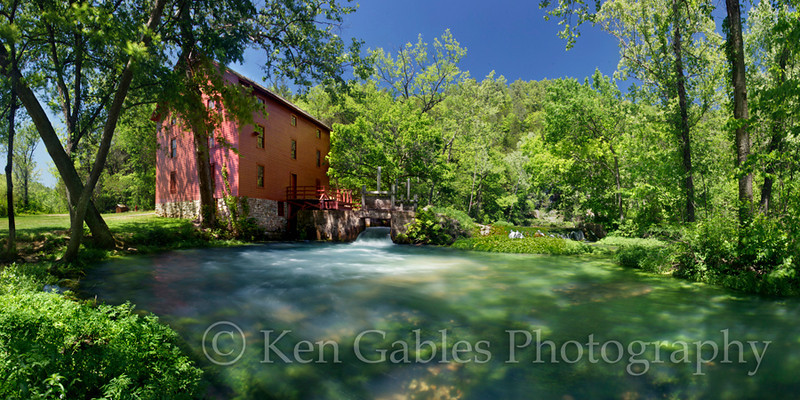 Alley Spring Grist Mill, Shannon County Missouri