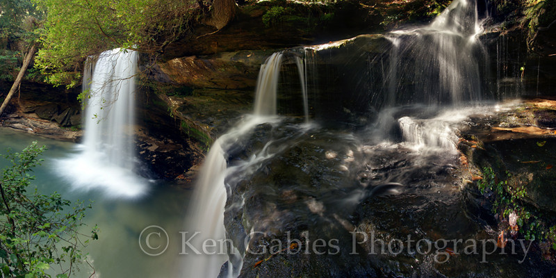Caney Creek Falls, Sipsey Wilderness, Winston County Alabama