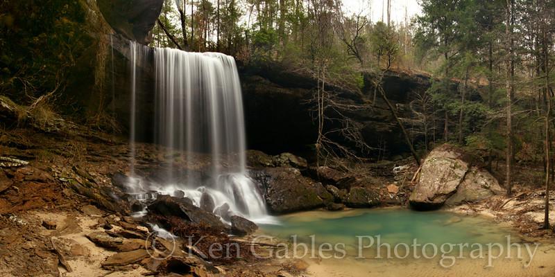 Sougahoagdee Falls, Bankhead Forest, Winston County Alabama