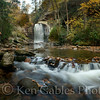 Looking Glass Falls, Pisgah National Forest, Transylvania County North Carolina