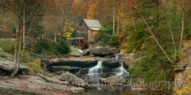 Glade Creek Grist Mill, Babcock State Park, Fayette County West Virginia