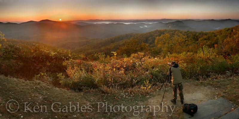 Looking Glass Rock, Blue Ridge Parkway, Transylvania County North Carolina