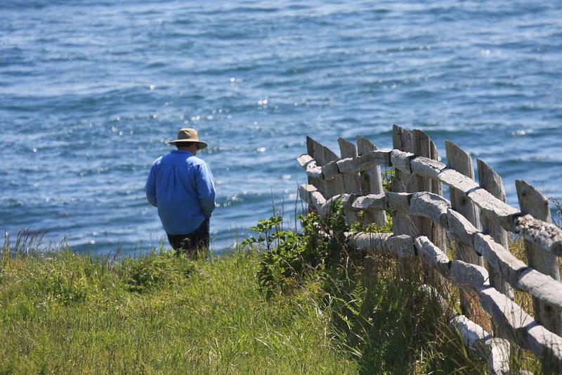 Hank by the Haro Strait - San Juan Island, WA