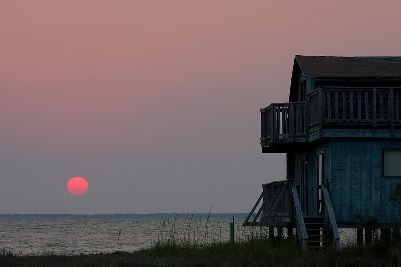 Apalachicola Bay from St George Island, FL