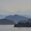 Morning commute from San Juan Islands to mainland of Washington State