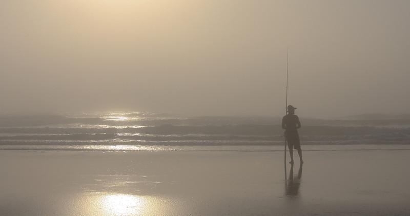 Early morning fisherman - Wilbur by the Sea, FL