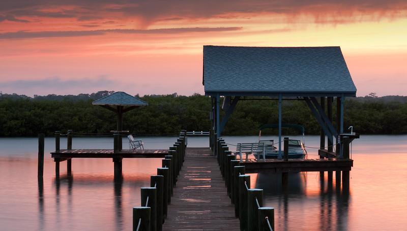 Morning dock - Wilbur by the Sea, FL