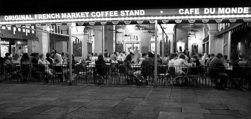 """""""Café du Monde at Night"""""""