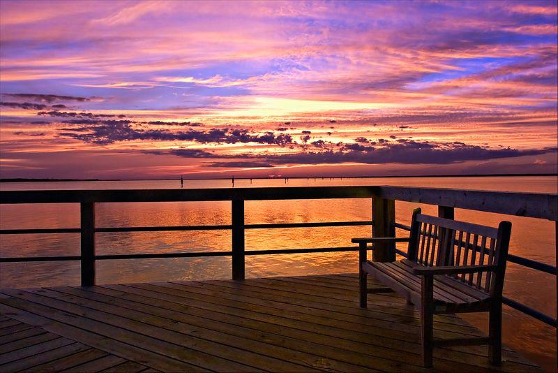 """Baytowne Wharf Pier""<br /> Baytowne Wharf Resort<br /> Sandestin, FL"