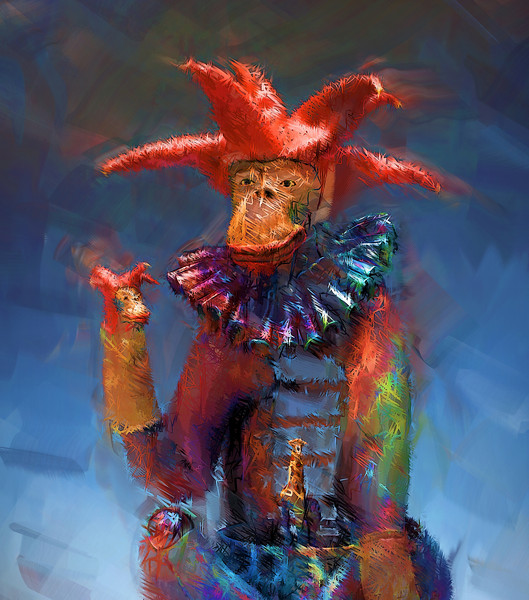 """""""The Jester""""<br />  <a href=""""http://www.nelsongriceart.com"""">http://www.nelsongriceart.com</a>"""