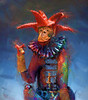 """The Jester""<br />  <a href=""http://www.nelsongriceart.com"">http://www.nelsongriceart.com</a>"