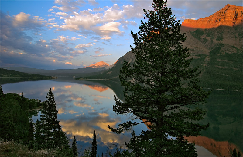 """St. Mary Lake""<br /> Glacier National Park<br /> Montana"