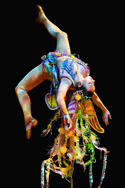 """Circus Fairy""<br /> Barnum & Bailey Circus<br /> Birmingham, AL"