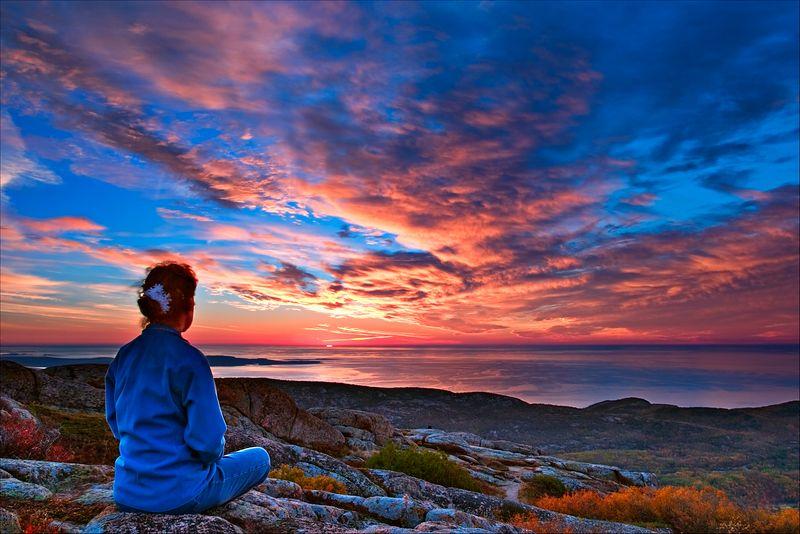 """""""Cadillac Mountain""""<br /> Acadia National Park<br /> Acadia, MA"""