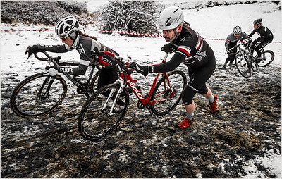 Cyclocross in the Snow