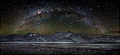 Night Sky over Aquas Calientes