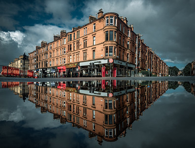 Byres Road Reflections