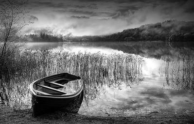 Lone Boat at Loch Ard