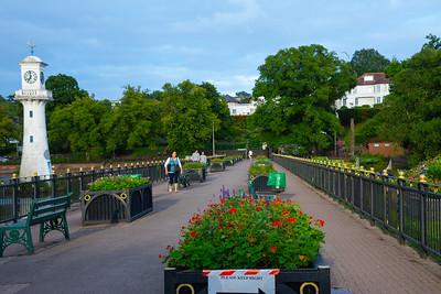 Evening in Roath Park