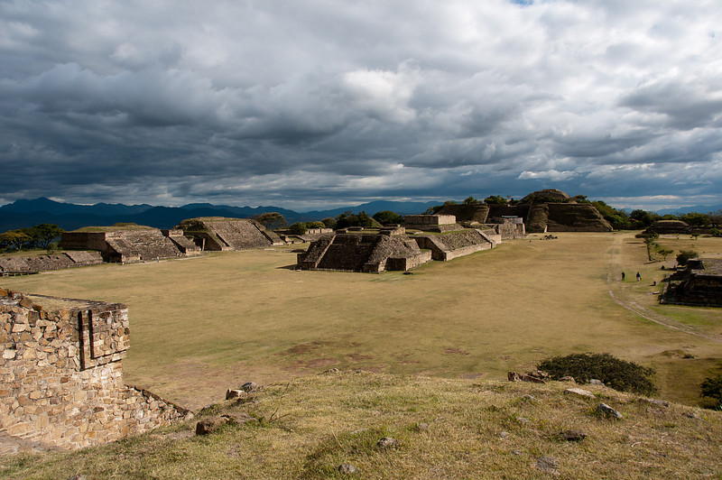 Monte Alban is a fantastic ruin site just outside the city of Oaxaca and is easily accessed by bus or taxi.