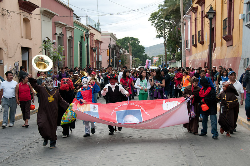 I spent two weeks in and around the city and experienced numerous parades, most having to do with Day of the Dead and Halloween.