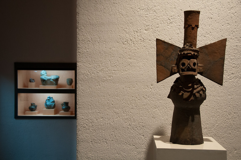 Throughout his lifetime, Oaxacan artist Rufino Tamayo collected pre-Columbian art.