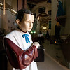 A creepy-looking altar boy at the church in San Pablo Villa de Mitla.