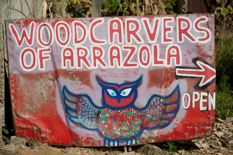 I visited three artist villages known for their wood carvings, or alebrijes:  San Antonio Arrazola, San Martin Tilcajate and La Unión Tejalapam.