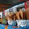 Food stall in Oaxaca.