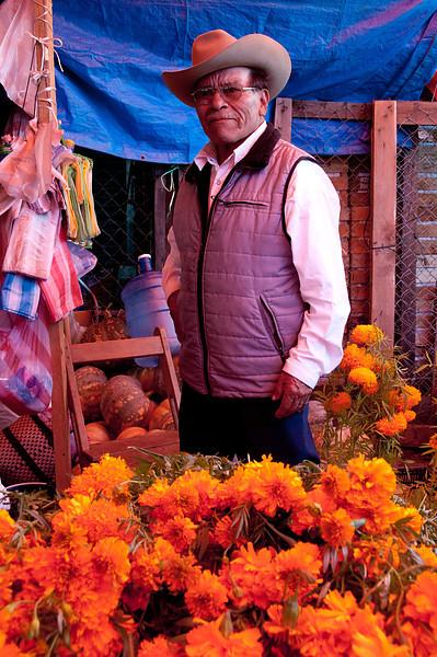 Flower merchant.