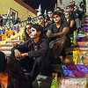 That night the students had their faces painted for a Night of the Dead ceremony.